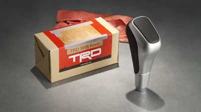 Trd Shift Knob - Aluminum / Leather