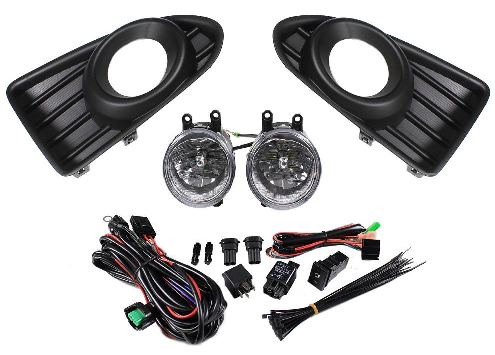 LED Fog Light Kit 2012-2015 Scion iQ - Custom (SIQ-812)