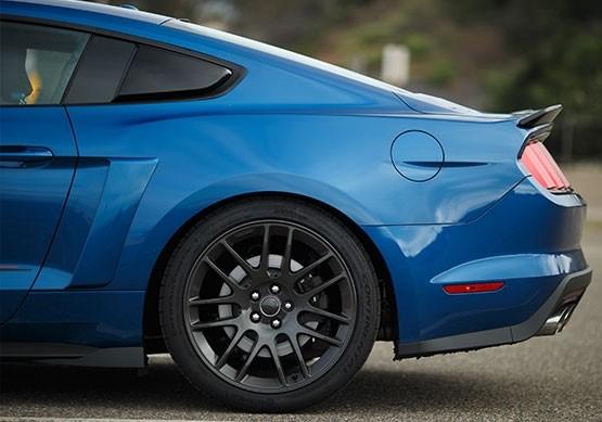 2015-2019 Mustang ROUSH Quarter Panel Side Scoops - Black - Roush (421878)