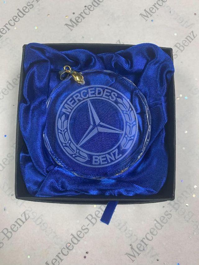 Crystal Ornament - Mercedes-Benz (MHH-815)