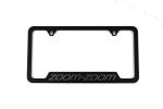 License Plate Frame W/ Zoom-Zoom Logo - Mazda (0000-83-Z22)