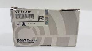 Rear Brake Pad Set - BMW (34-21-6-768-471)