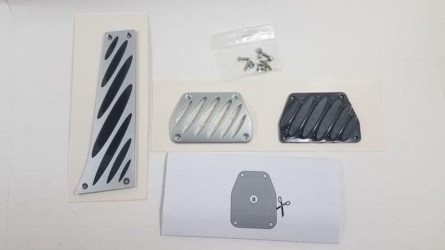 Aluminum Pedals - Automatic Transmission - BMW (35-00-2-213-212)