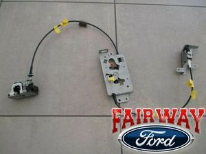 04 thru 08 F-150 OEM Ford Rear Side Door Latch & Cable Extended Cab RH PASSENGER - Ford (8L3Z-18264A00-B)