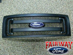 2009 thru 2014 F-150 OEM Genuine Ford Parts Black XL Model Grille w/Emblem - Ford (DL3Z-8200-CA)