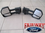 2015 thru 2018 F150 Trailer Tow Mirrors - Ford (JL3Z-17696-BA)