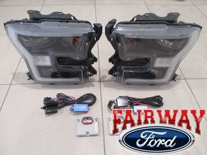 2016 thru 2017 F-150 OEM Ford Special Edition Headlamps LED Conversion Kit