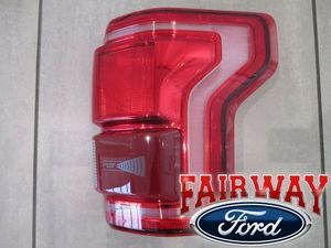 15 thru 17 F-150 OEM Genuine Ford Tail Lamp Light Passenger RH LED w Blind Spot - Ford (HL3Z-13404-DCP)
