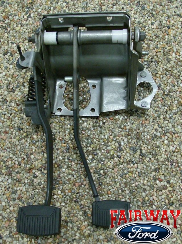 Genuine Ford Clutch & Brake Pedal Asm. w/ Spring - Ford (F3TZ-2455-A)