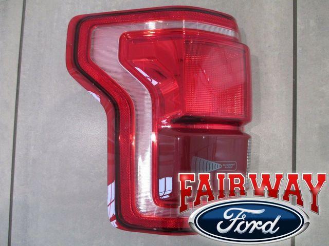 15 thru 17 F-150 OEM Genuine Ford Tail Lamp Light Driver LH LED w/ Blind Spot - Ford (HL3Z-13405-DCP)