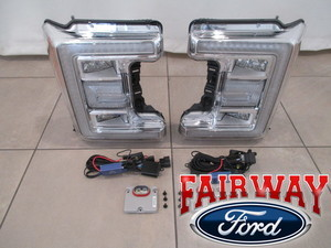 2017 2018 Super Duty F250 F350 Halogen to LED Conversion Complete Kit