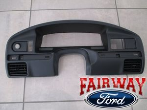 1994 thru 1997 F-250 F-350 OEM Ford Instrument Cluster Dash Panel Bezel DIESEL ONLY - Ford (F4TZ-15044D70-C)