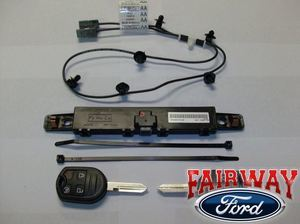 2 Key Remote Start - Fits F150, Super Duty, Edge and Flex - Ford (BC3Z-19G364-A)