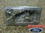 2002 thru 2004 Excursion OEM Genuine Ford Parts RIGHT Passenger Head Lamp Light NEW - Ford (2C3Z-13008-AA)