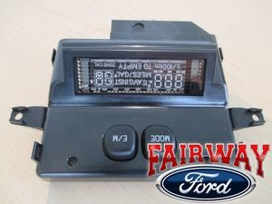 02 thru 05 Excursion OEM Ford Overhead Console Message Center Indicator w/o Roof - Ford (3C7Z-10D898-AA)