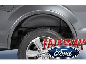2015 thru 2019 F-150 OEM Genuine Ford Heavy Duty Rear Wheel Well House Liner Kit - Ford (FL3Z-9927886-D)