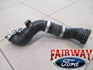 11 thru 16 Super Duty OEM Ford 6.7 Diesel Turbo Intercooler Outlet Duct Hose - Ford (BC3Z-6F073-D)