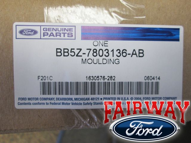 Genuine Ford BB5Z-7803136-AB Windshield Molding