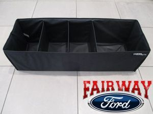 OEM Genuine Ford Parts Large Soft Sided Cargo Organizer - Ford (HE5Z-78115A00-A)