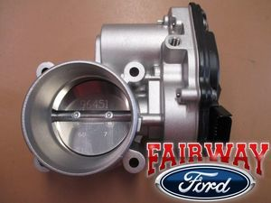 2009 thru 2016 Fusion Escape OEM Genuine Ford Throttle Body w/TPS Sensor - Ford (DS7Z-9E926-D)