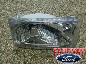 2002 thru 2004 Excursion OEM Genuine Ford Parts LEFT - Driver Head Lamp Light - Ford (2C3Z-13008-AB)