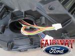 2015 thru 2017 F-150 OEM Genuine Ford Chrome LED Head Lamp Light - Left Driver - Ford (FL3Z-13008-M)