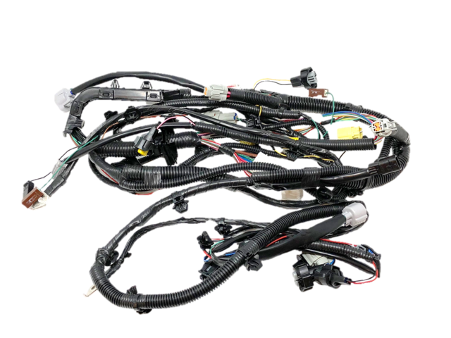 front bumper headlamp fog light wiring harness 24023