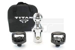 Hitch, Gooseneck Ball And Anchor Towing Kit TITAN XD - Nissan (999T5-W4175)