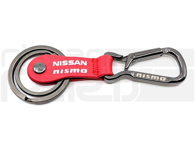 NISMO RED KEYRING - Nissan (M-KWA10-60H10RD)