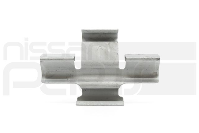 FRONT BRAKE RETURN SPRING / ANTI-RATTLE CLIP (R35 GT-R) - Nissan (41090-JF20C)