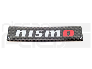 NISMO CARBON FIBER BADGE