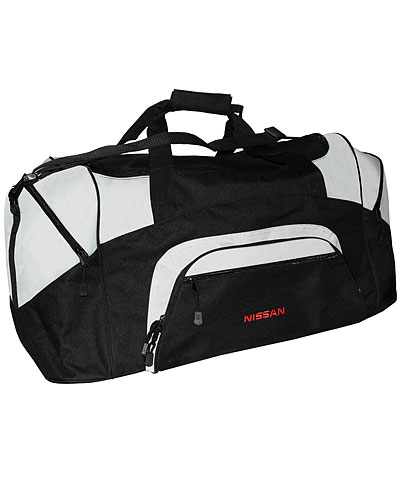 NISSAN BLACK / GRAY DUFFLE BAG - Nissan (NIS27000900)