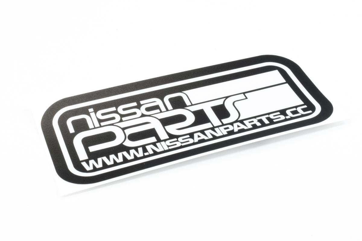 NISSANPARTS.CC RECTANGLE DECAL - Nissan (NPRECSM)