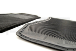 Floor Mats, Carpeted (Black) - Coupe - Nissan (74902-RNZ30)