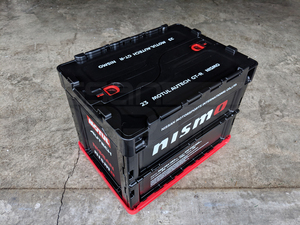 NISMO 20L BOX - BLACK - Nissan (M-KWA6A-60K10BK)