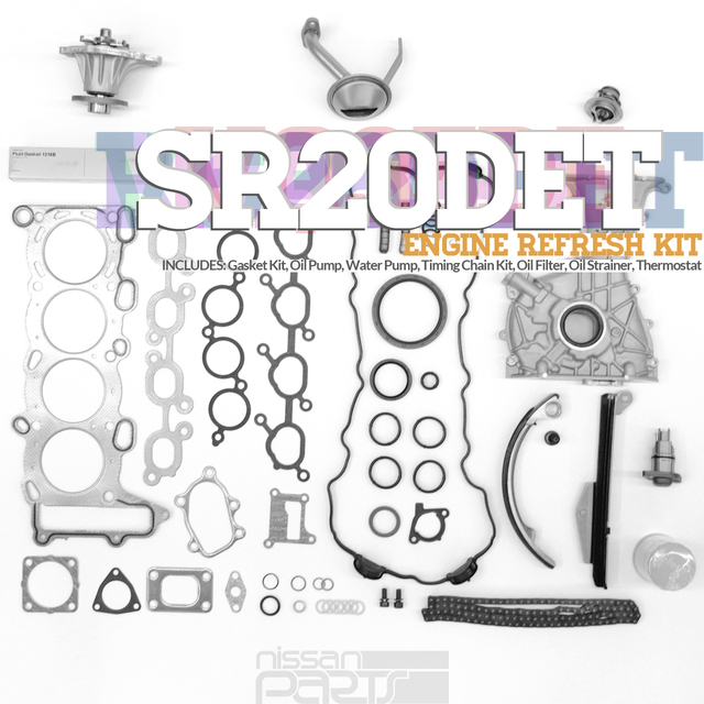 S13 SR20DET ENGINE REFRESH KIT - Nissan (S13SRRK)