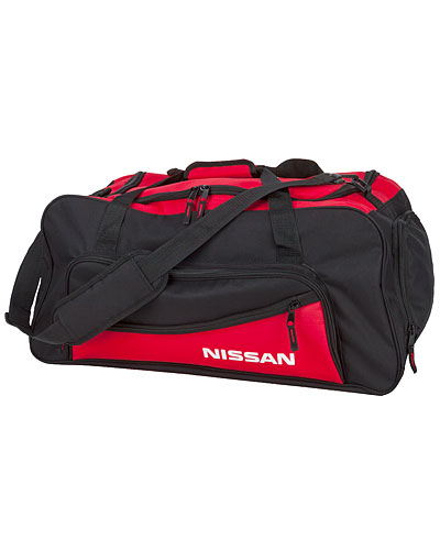 NISSAN RED / BLACK DUFFLE BAG - Nissan (NIS27002600)
