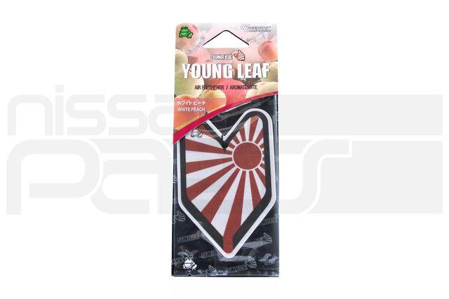 YOUNG LEAF - SUNRISE WHITE PEACH - AIR FRESHENER - Custom (10090)