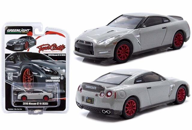 GREENLIGHT 1:64 TUNER CRATE R35 GT-R - Nissan (51660)