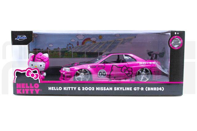 JADA HELLO KITTY GT-R DIECAST 1:24 - Custom (51728)