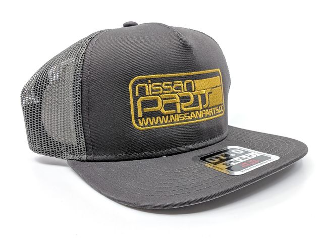 NISSANPARTS OTTO COTTON TWILL FLAT MESH BACK SNAPBACK HAT - Custom (NPHAT7)