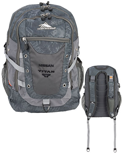 NISSAN TITAN HIGH SIERRA TACTICAL BACKPACK - Nissan (NIS27003300)