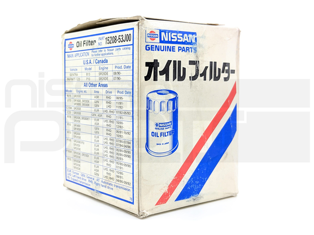 ENGINE OIL FILTER (S13 SR20DET) - Nissan (15208-53J0A)