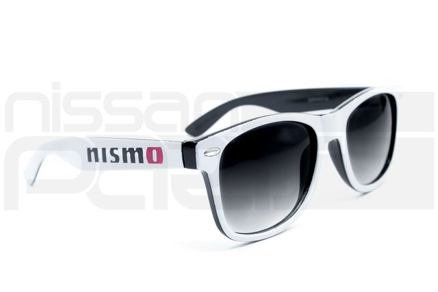 NISMO SUNGLASSES (WHITE/BLACK) - Nissan (NIS19003100)