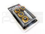 NISMO LICENSE PLATE BOLT SET - GOLD - Nissan (M-84816-PLBGD)