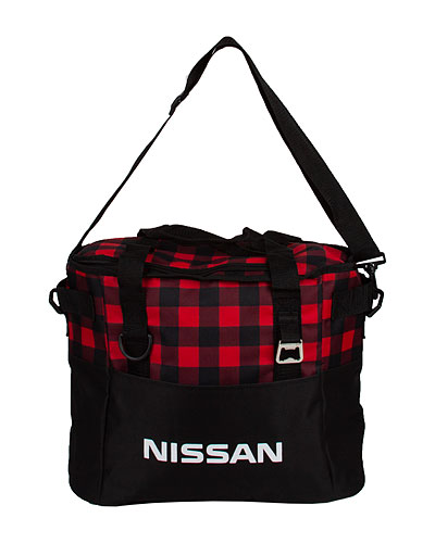 NISSAN PLAID COOLER BAG - Nissan (NIS27004100)