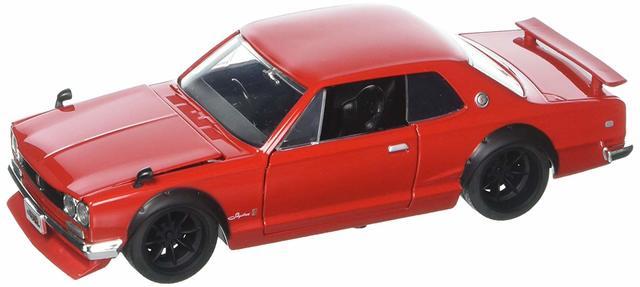 JADA JDM TUNERS '71 SKYLINE GTR 1:24 RED - Nissan (51655)