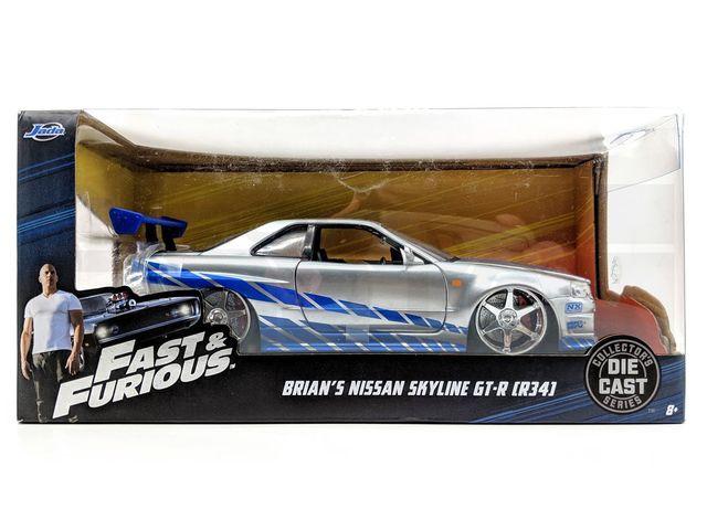JADA 1:24 FAST & FURIOUS R34 GT-R - Custom (51531)