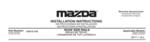 2017-2021 Mazda CX-5 - 2017-2021 CX-5 - ROOF RAILS - Mazda (0000-8L-R09)