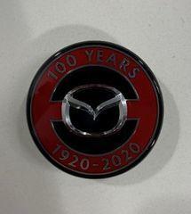 100th anniversary center cap - Mazda (DJ15-37-190)